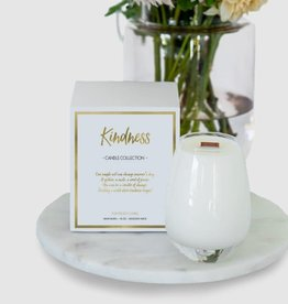 Gratitude Glass Jars KINDNESS Scented Soy Candle