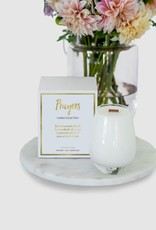 Gratitude Glass Jars PRAYERS Scented Soy Candle