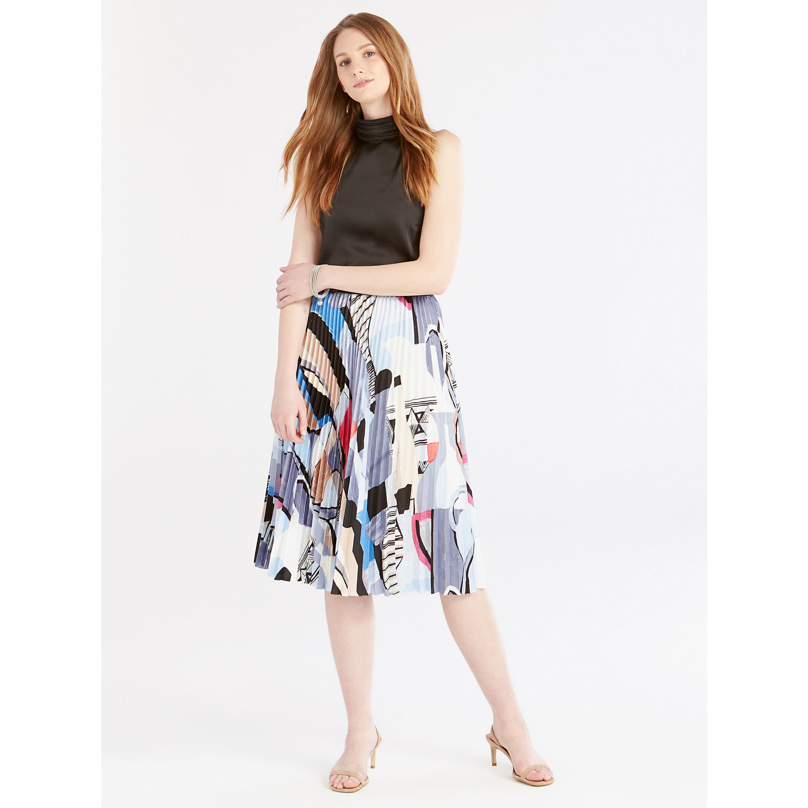 Nic+Zoe Pottery Skirt
