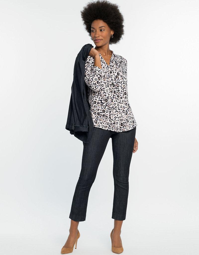 Nic+Zoe Femme Cheetah Shirt