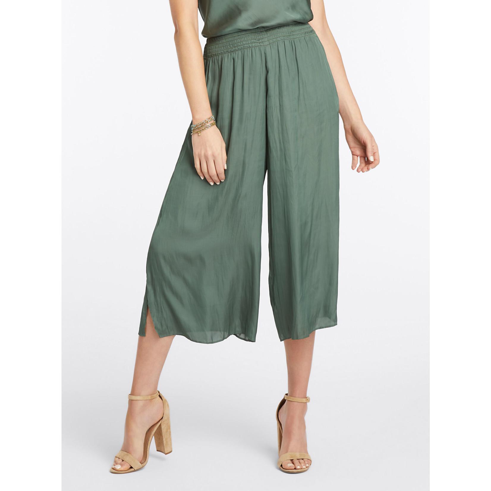 Nic+Zoe Destination Pocket Pant in Urban Green