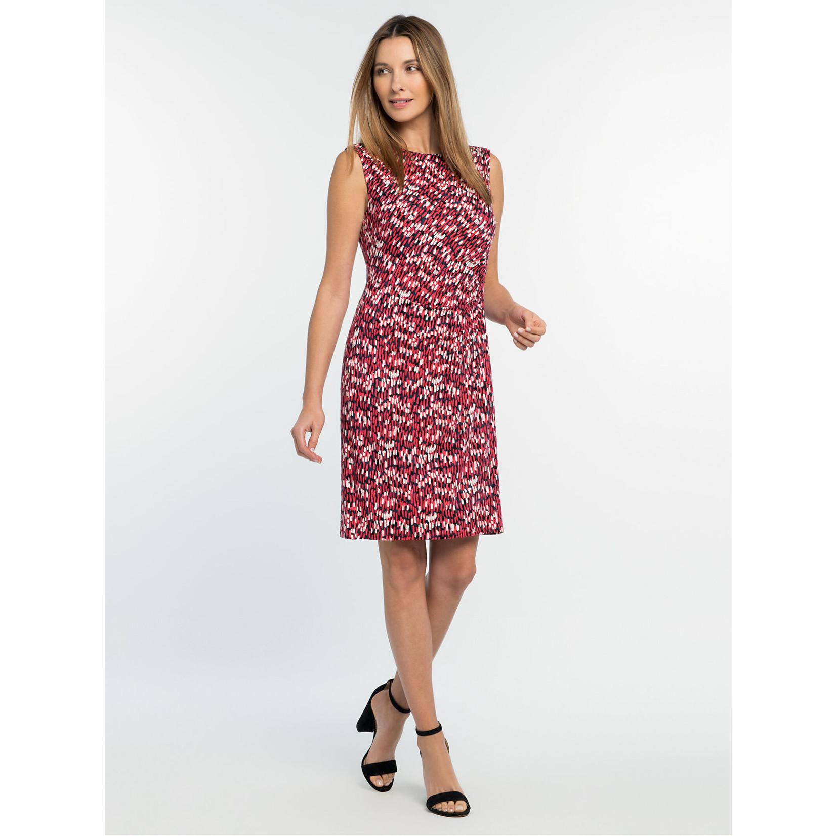 Nic+Zoe Bright Burst Twist Dress