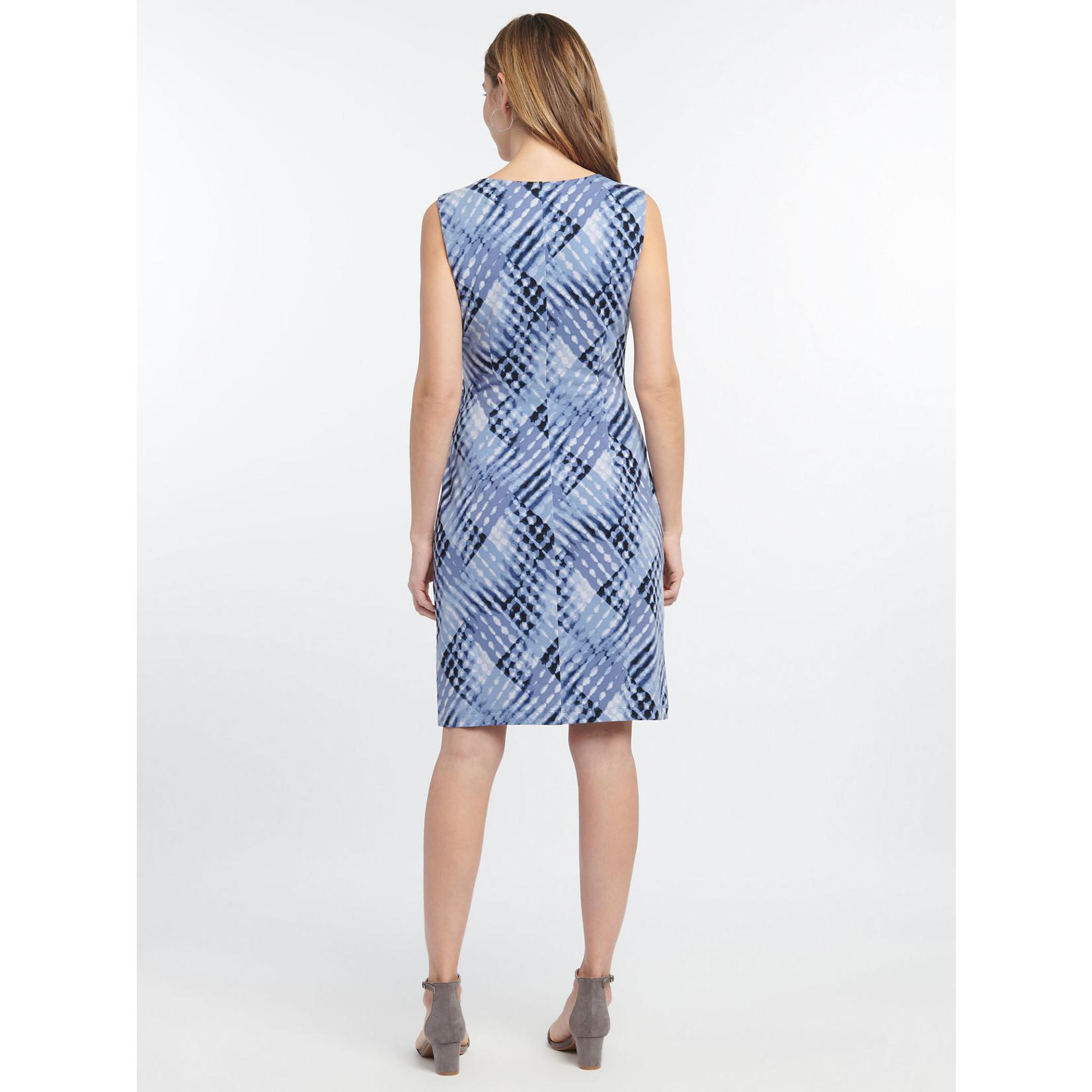 Nic+Zoe Cross Over Twist Dress