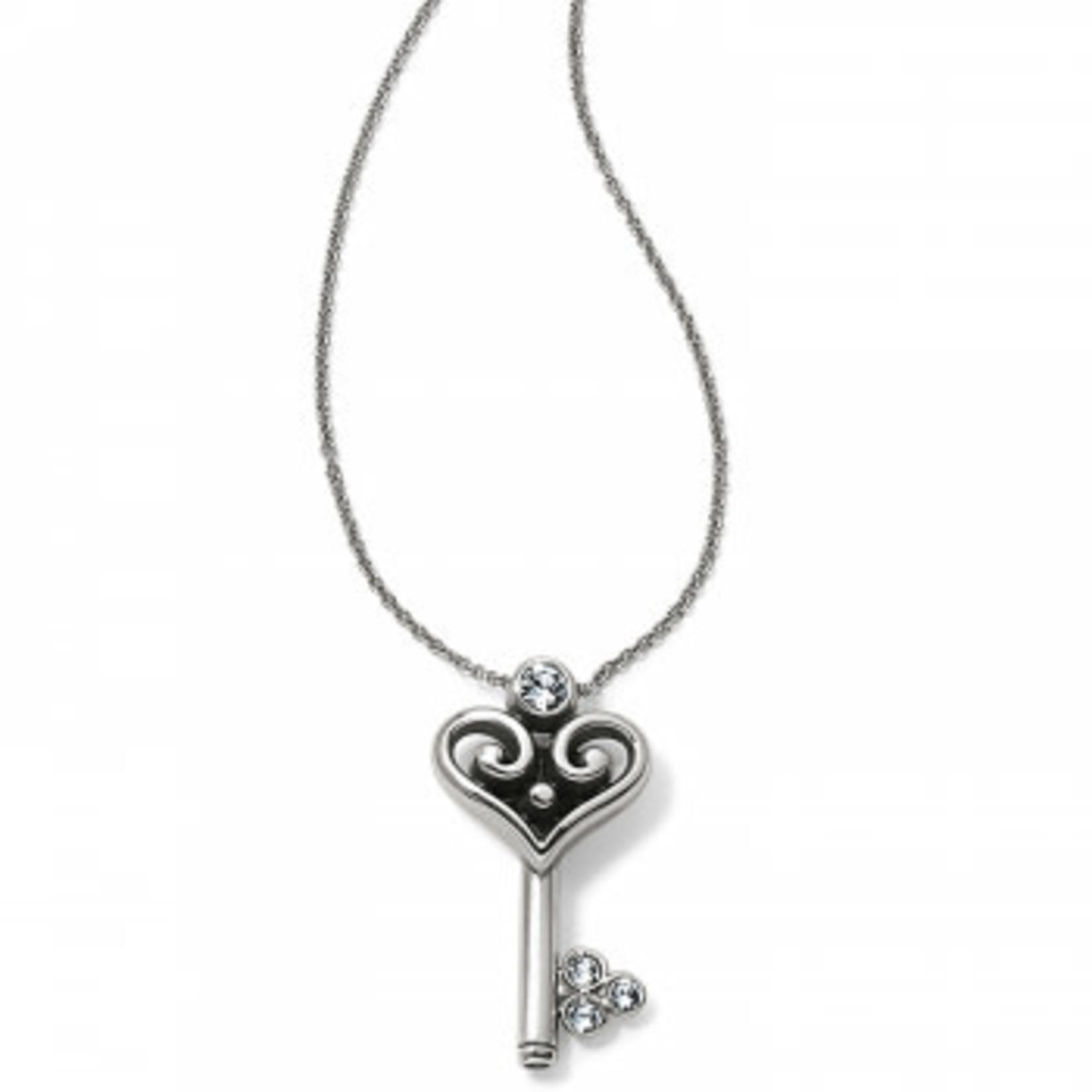 Brighton Alcazar Heart Key Necklace