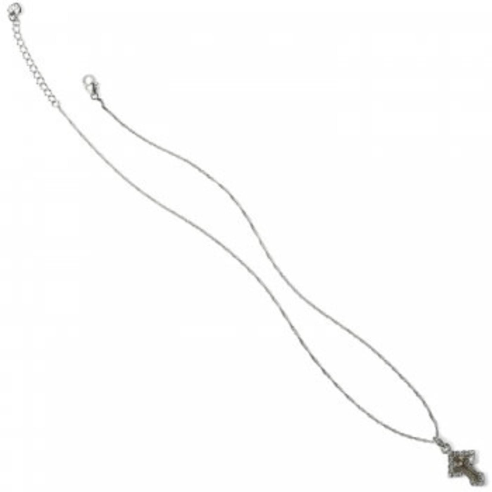 Brighton Greek Petite Cross Necklace