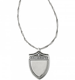 Brighton Medaille Shield Necklace