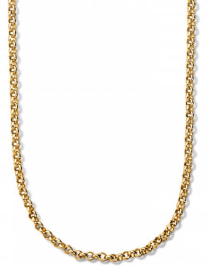 Brighton Vivi Delicate Petite Gold Charm Necklace
