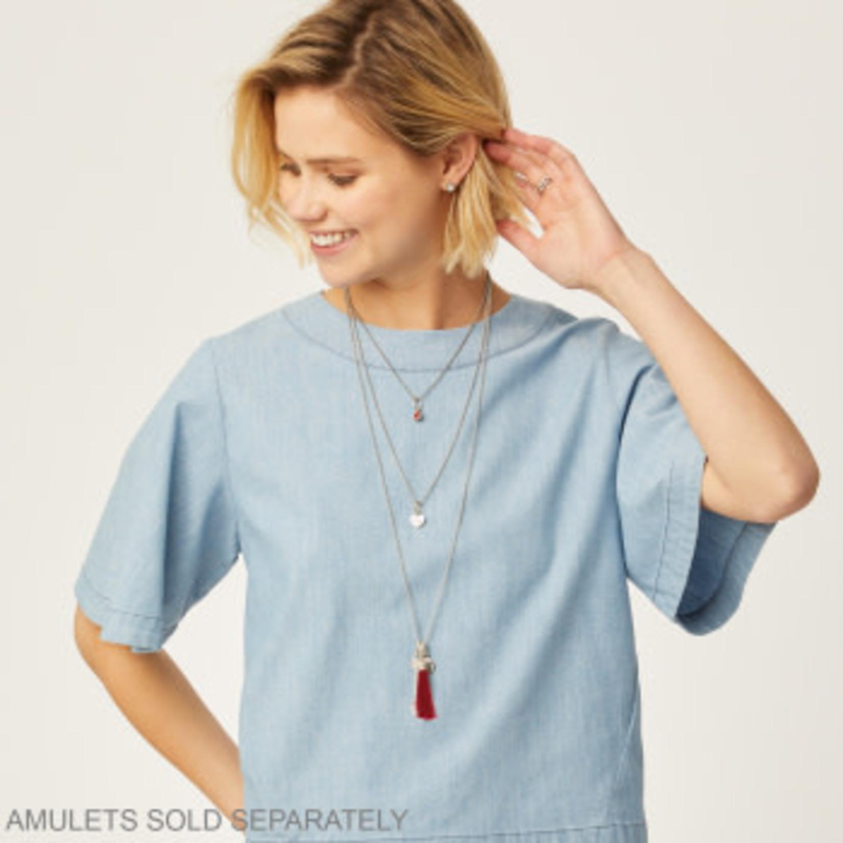 Brighton Vivi Delicate Short Charm Necklace