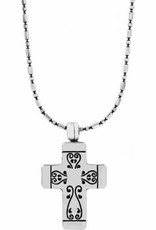 Brighton Venezia Petite Cross Necklace