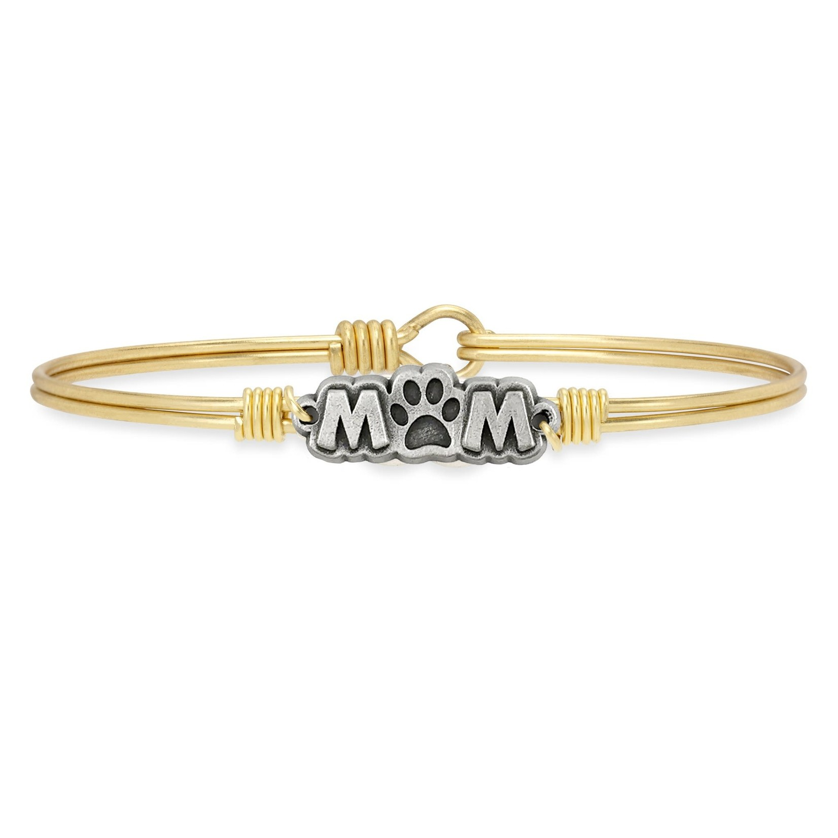 Luca+Danni Fur Mom Bangle Bracelet in Brass/Regular