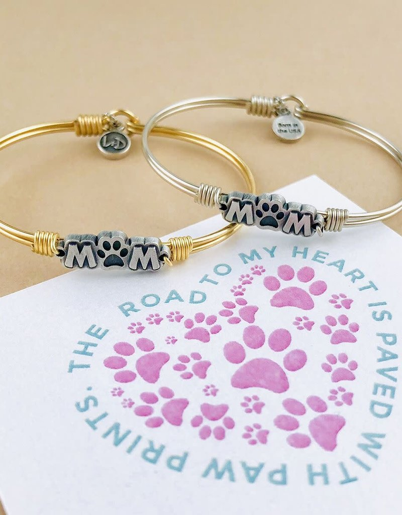 Luca+Danni Fur Mom Bangle Bracelet in Brass/Regular