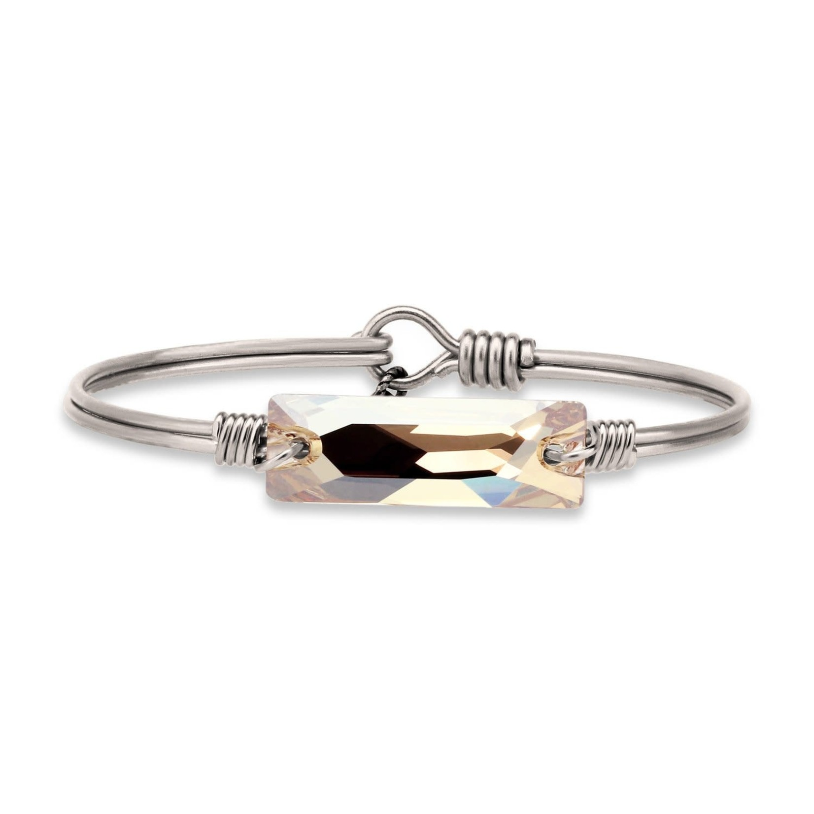 Luca+Danni Hudson Bangle Bracelet In Champagne/Silver Tone/Regular