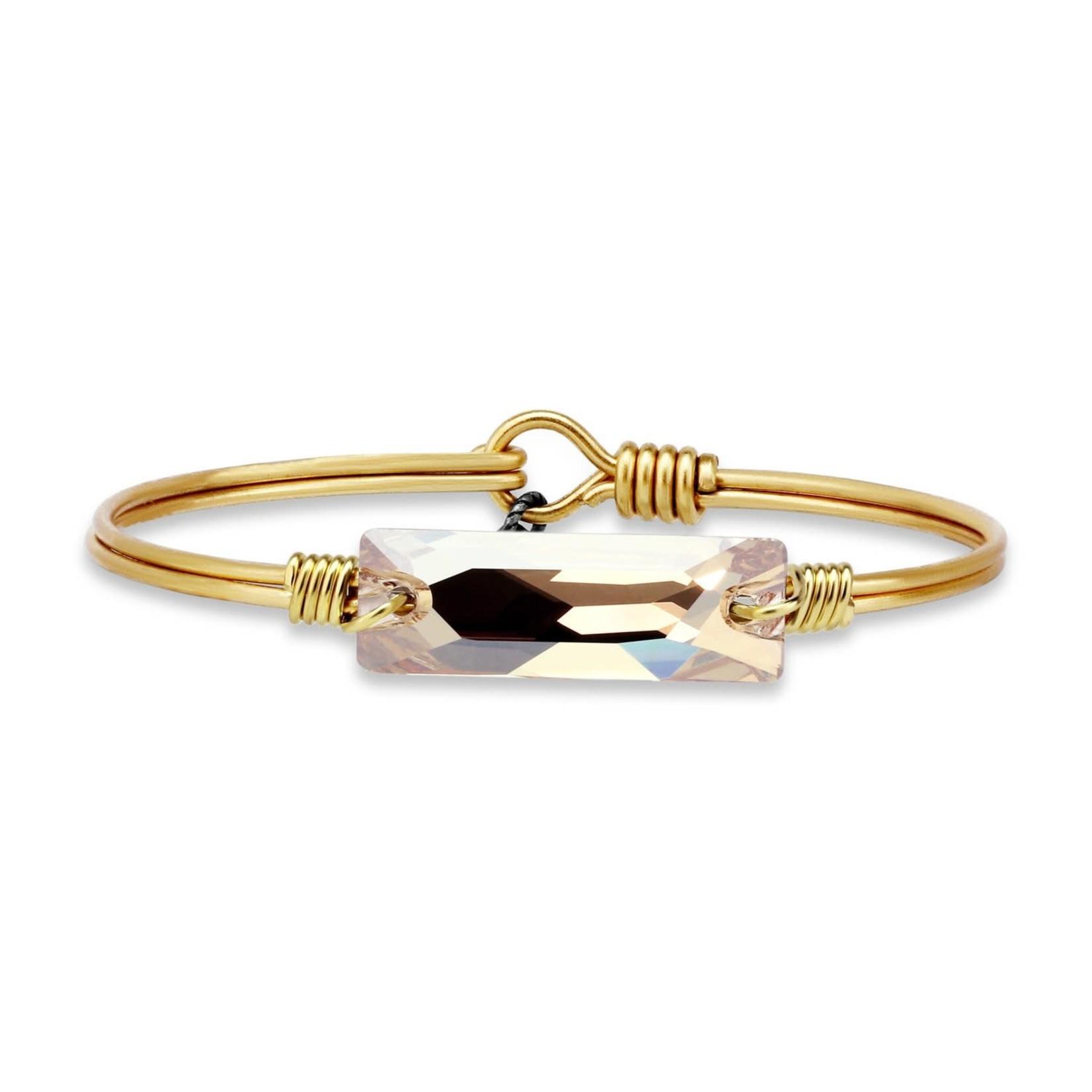 Luca+Danni Hudson Bangle Bracelet In Champagne/Brass/Regular
