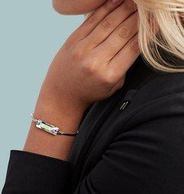 Luca+Danni Hudson Bangle Bracelet In Crystal AB/Brass Regular