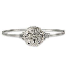 Luca+Danni Sand Dollar Bracelet in Silver Tone/Regular
