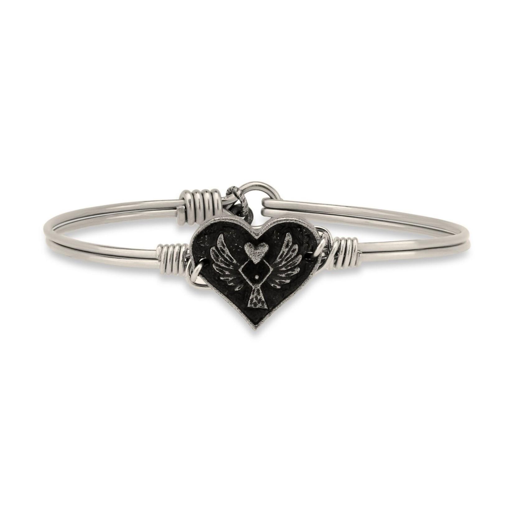 Luca+Danni Angel Heart Bracelet in Silver Tone/Regular