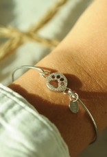 Paw Pave' Icon Sterling Bracelet