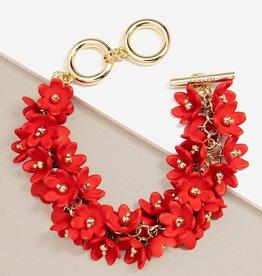 Petite Petals Bracelet in Flame