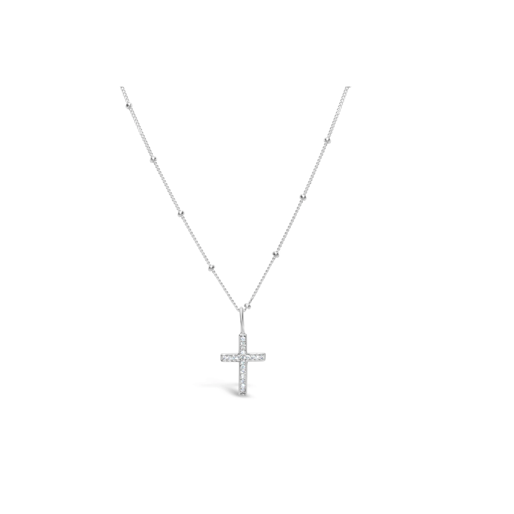 Necklace/Silver/Cross