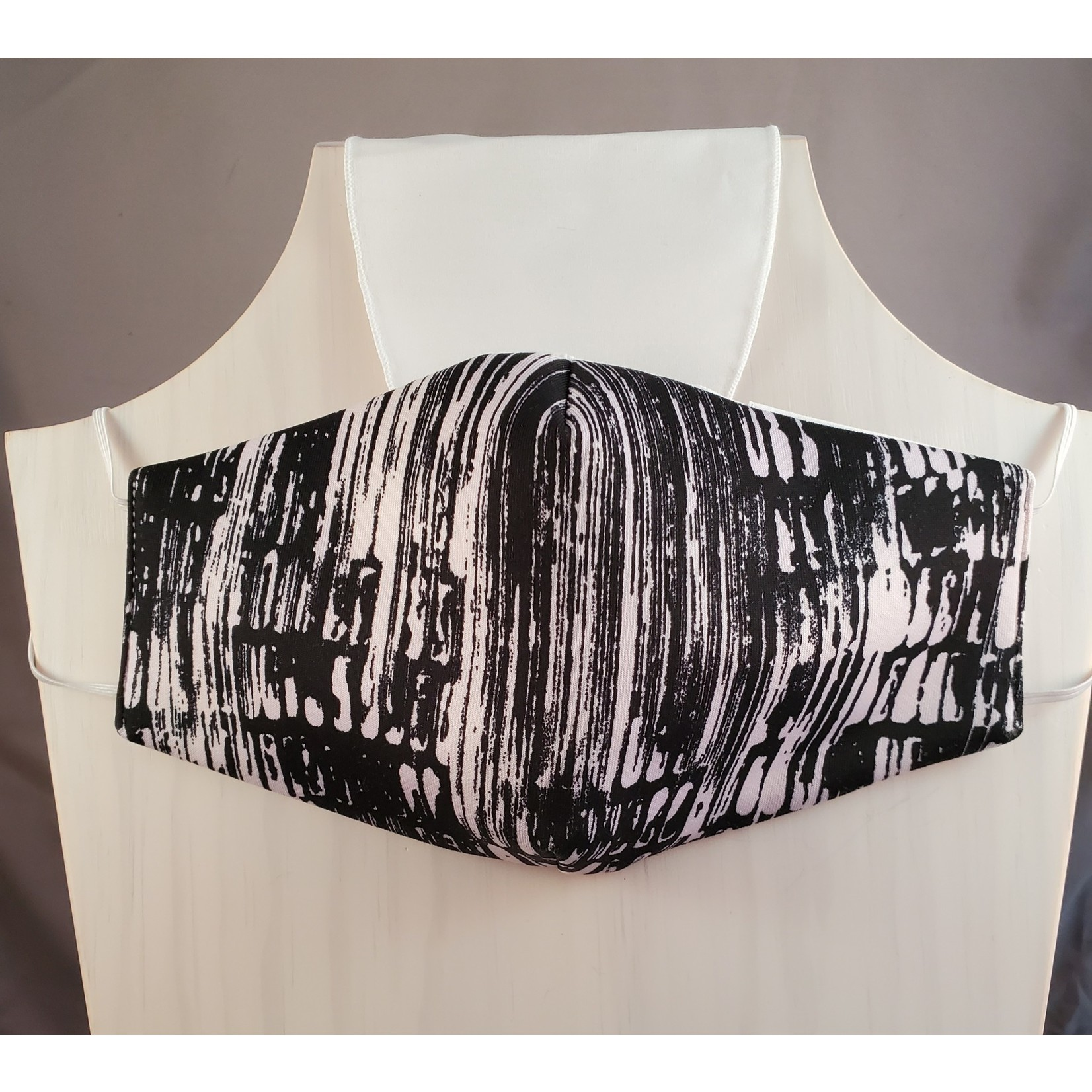 Andria Lieu Black Blush Print Face Mask - 3 Ply Fabric w/Filter
