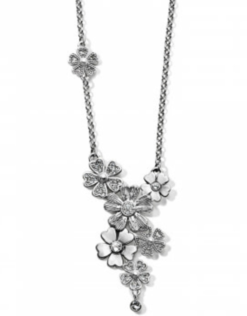 Brighton Flora V Necklace Silver