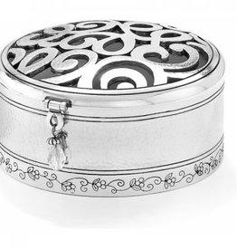 Brighton Skribbel Round Trinket Box