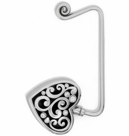 Brighton Contempo Heart Handbag Hook