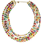 WorldFinds Intertwining Kantha Necklace