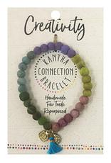WorldFinds Kantha Connection Bracelet - Creativity