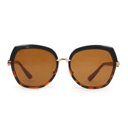 Powder Aubrey Tortoise Sunglasses