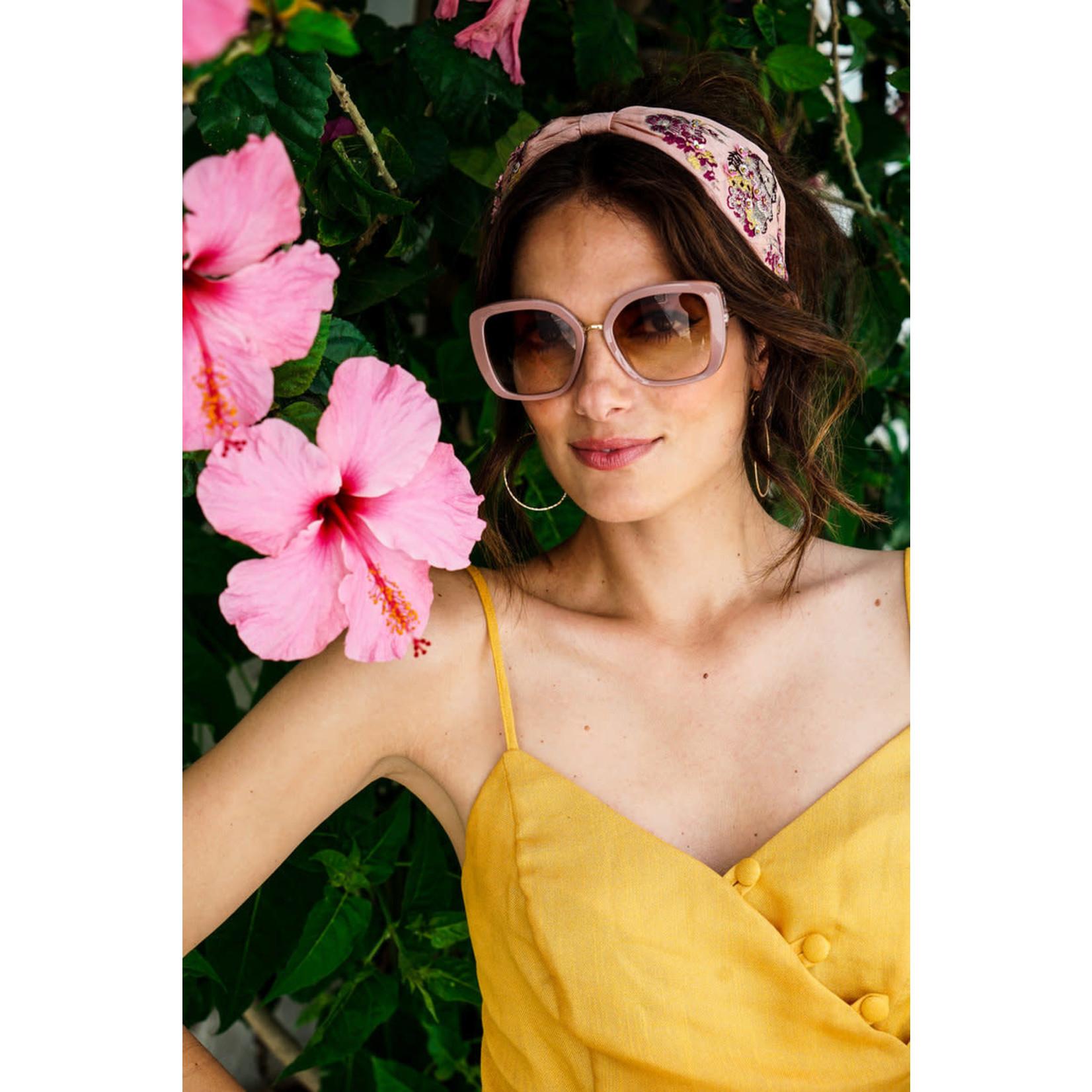 Powder Serenity Pink Sunglasses