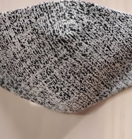 Andria Lieu Black & White Speckled Face Mask - 3 Ply Fabric w/Filter