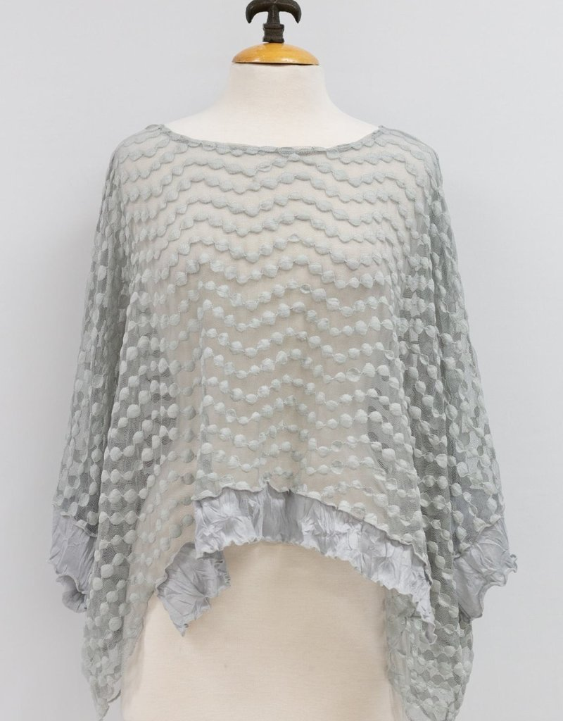 Layered Bubble Lace Topper
