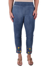 Pull-on Ankle Pant w/ Grommets
