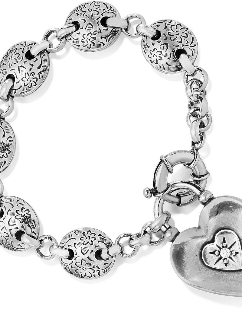 Brighton One Heart Link Bracelet