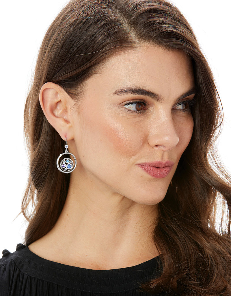 Brighton Halo Tauri French Wire Earring