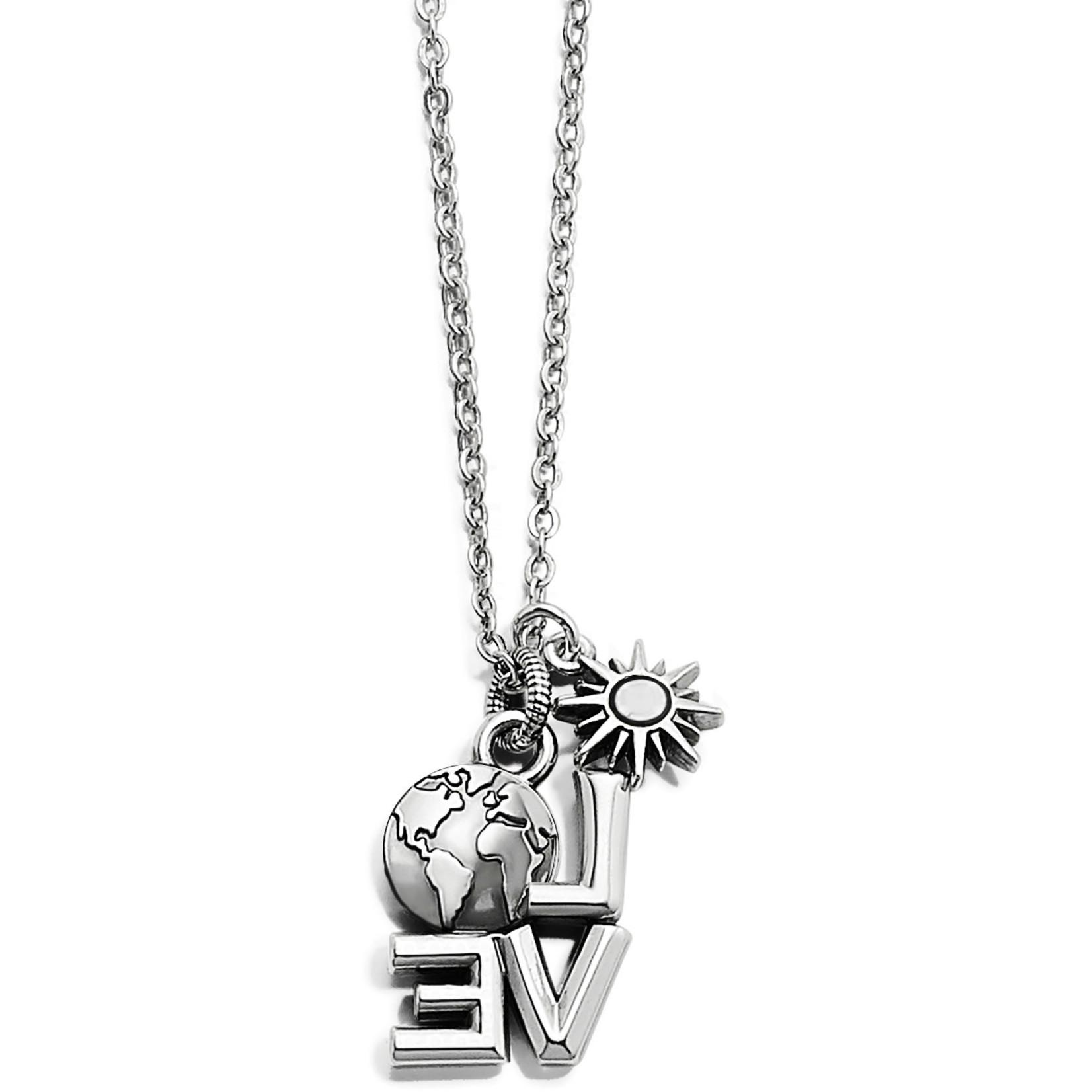 Brighton Love Earth Necklace