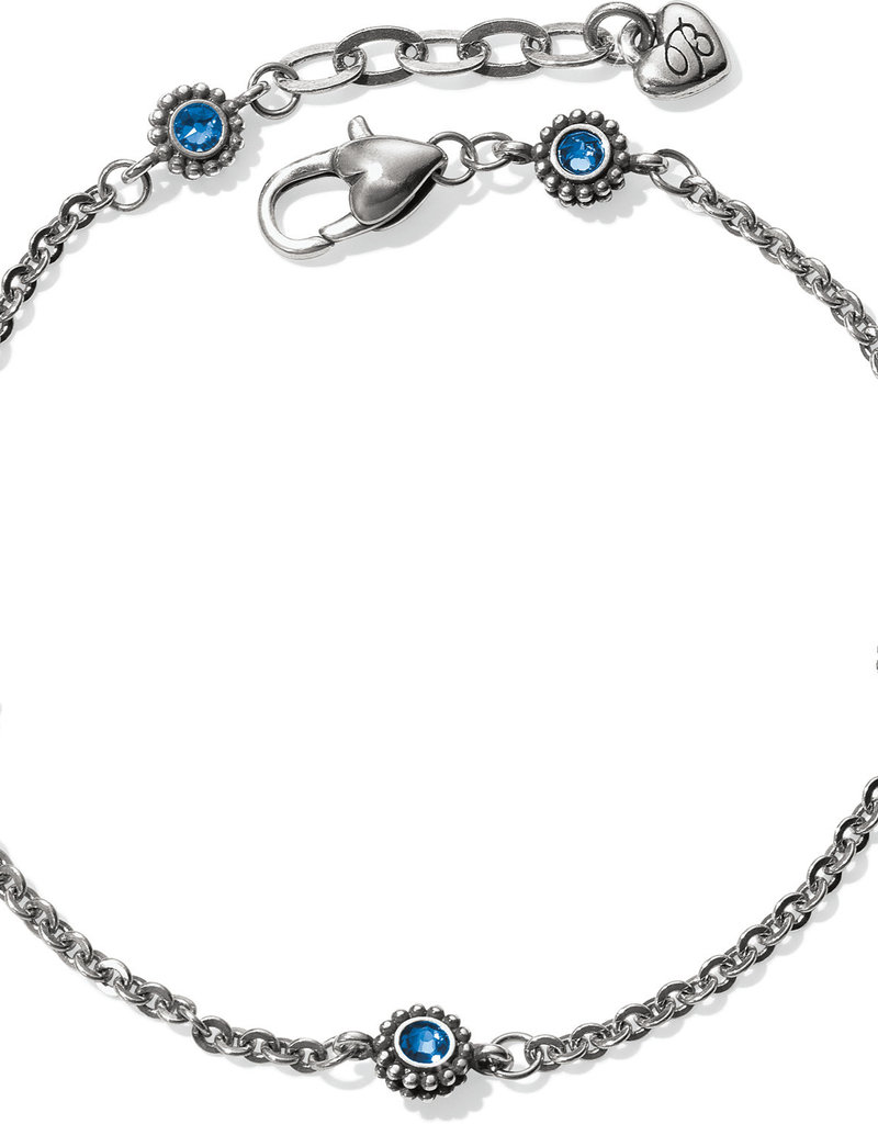 Brighton Twinkle Sapphire Anklet