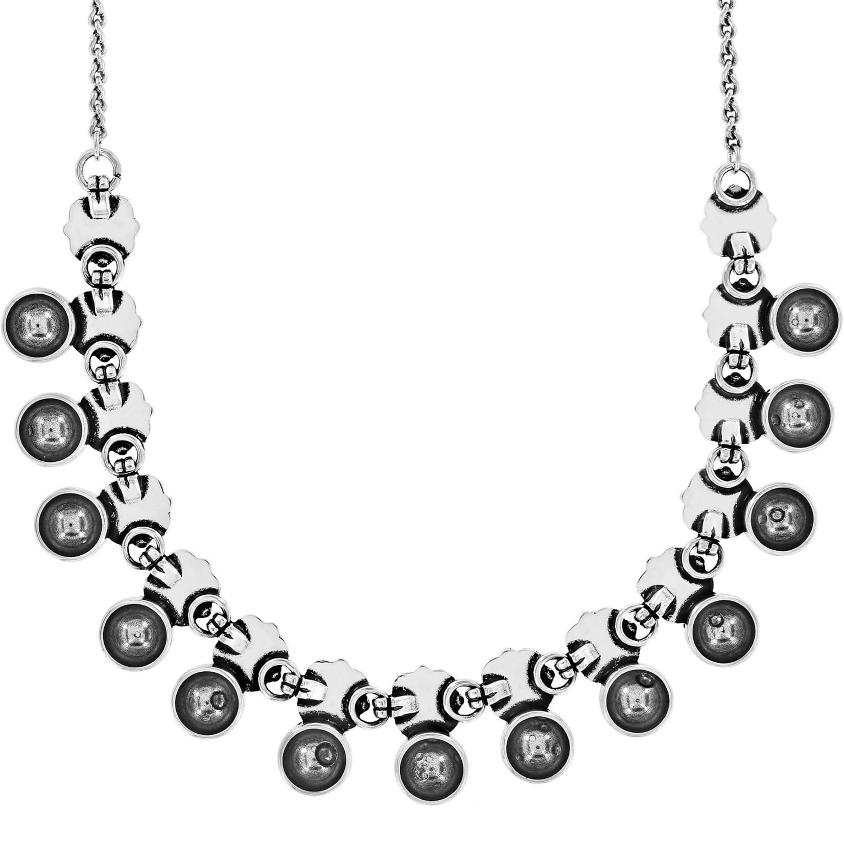 Brighton Rajasthan Garden Necklace Silver