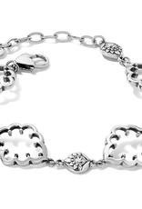 Brighton Journey To India Lotus Bracelet Silver