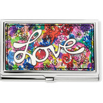Brighton Love Bouquet Metal Card Case Multi
