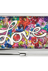 Brighton Love Bouquet Metal Card Case Multi