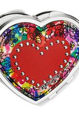 Brighton Love Bouquet Heart Compact Mirror Multi