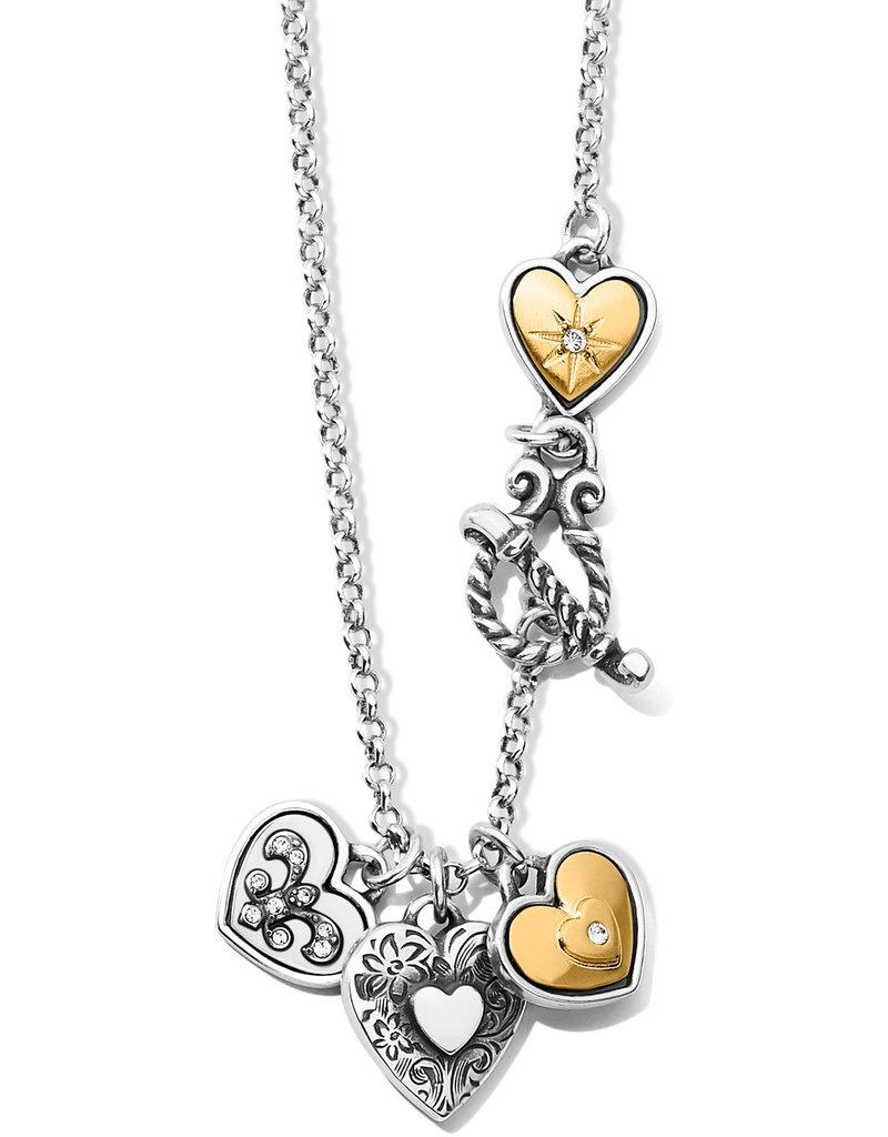 Brighton One Heart Short Necklace