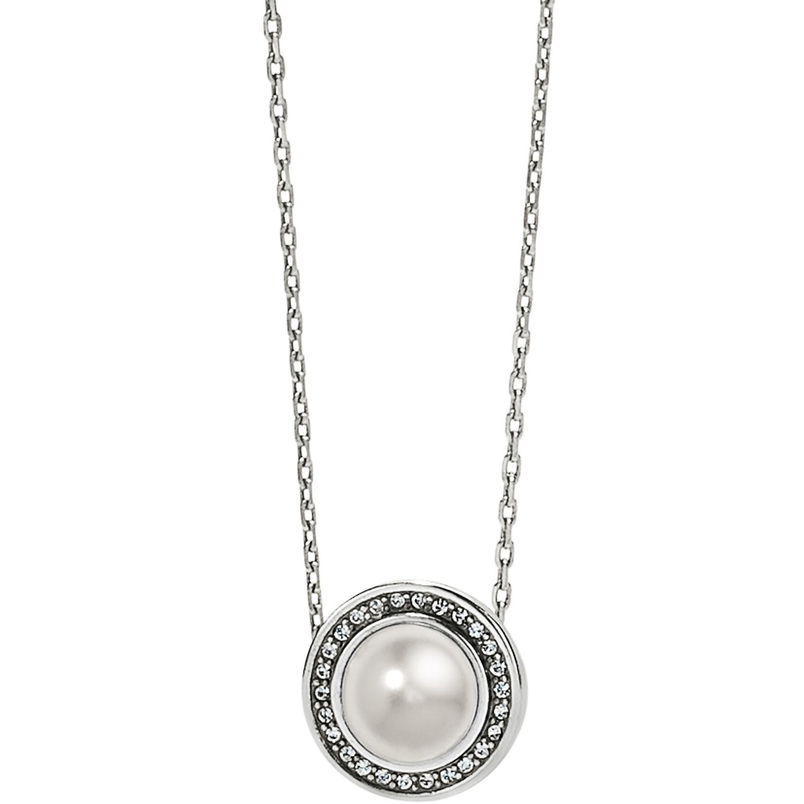 Brighton Chara Ellipse Pearl Short Necklace