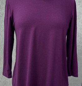 Reina Lee 3/4 Sleeve Mulberry Tee Shirt