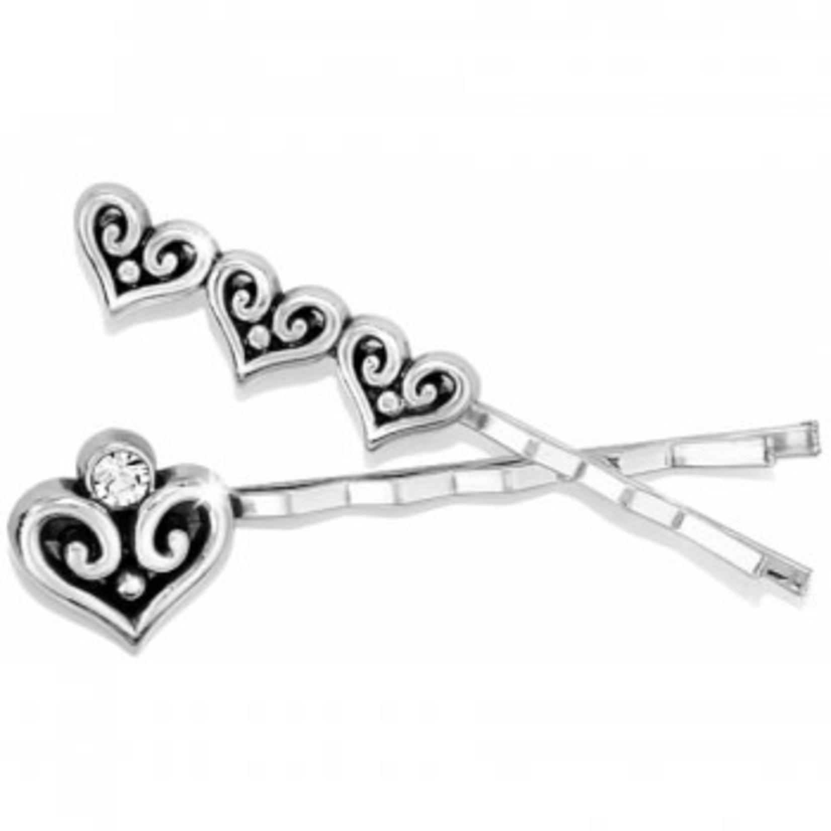 Brighton Alcazar Heart Bobby Pin Set