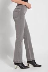 Gray Baby Boot Cut Denim Pull On Pants