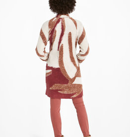 Nic+Zoe Abstract Waves Coat