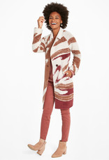 Nic+Zoe Abstract Waves Coat